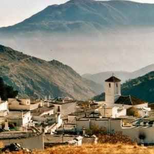 Typical Arab village in the Sierra Nevada.