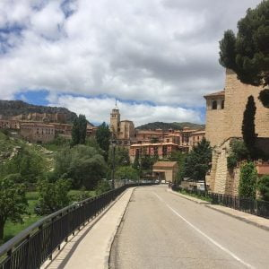 Entrance Requena in the province Valencia Spain.