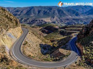 Super twisty roads in Spain 1
